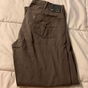 Brown Levi jeans